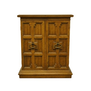 Heritage Furniture Italian Neoclassical Tuscan Style Cabinet For Sale
