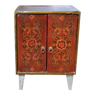 Painted Small Cabinet For Sale