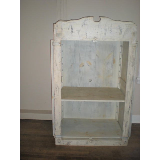 1940s French Country Armoire Cast Iron Stand For Sale - Image 5 of 7