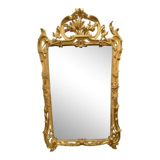 French 18th C Mirror For Sale