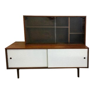 Paul McCobb Credenza With Bookcase