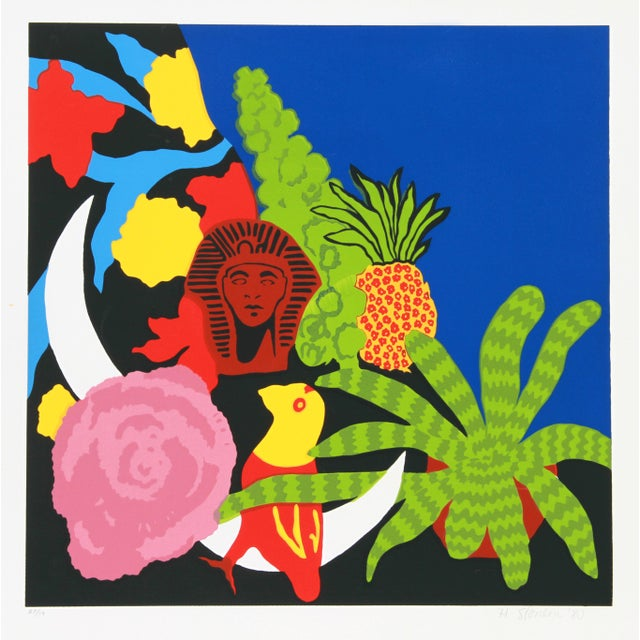 Contemporary Hunt Slonem, Brussels Sprouts, Serigraph For Sale - Image 3 of 3