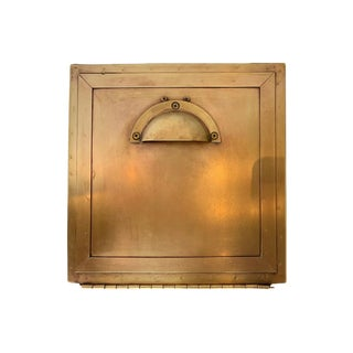 Vintage Brass Mailbox For Sale