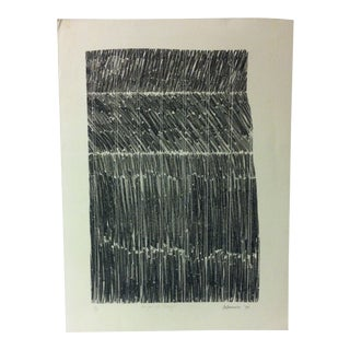 """Limited Edition Signed Artists Proof Print, """"Change of Thoughts"""" by De Domenico - 1973 For Sale"""