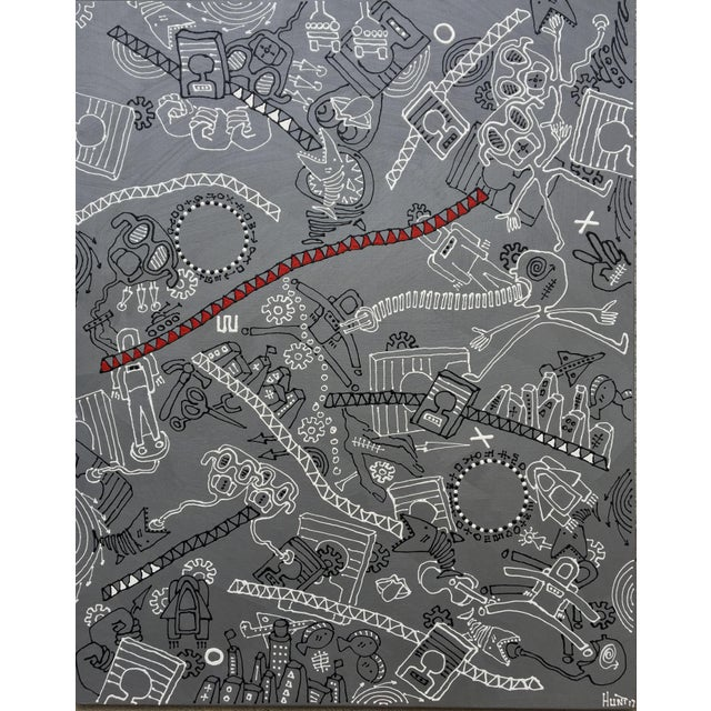 """""""The Silver Rope"""" Original Artwork by R Hunt For Sale - Image 12 of 12"""