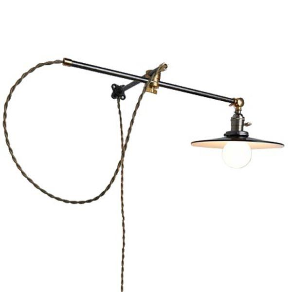 Daniel Articulating Industrial Sconce - Image 1 of 2