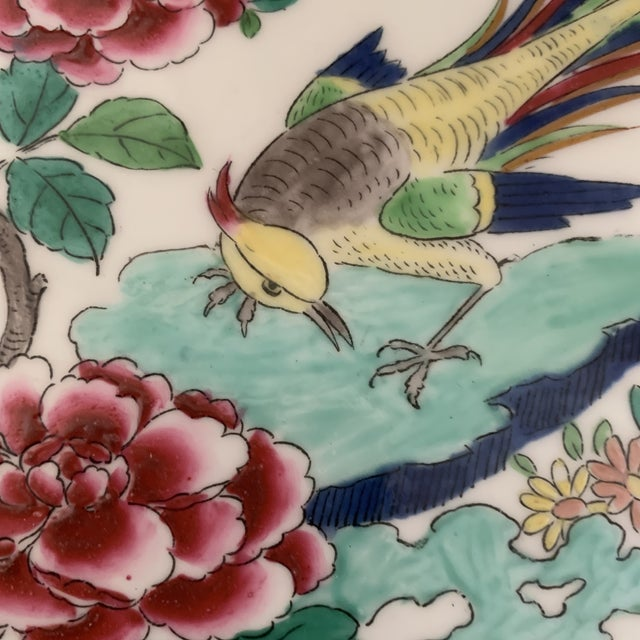 Asian Exceptional Antique Chinese Porcelain Bird Plates- Set of 5 For Sale - Image 3 of 7