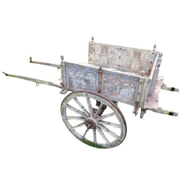 19th-Century Sicilian Goat Cart For Sale