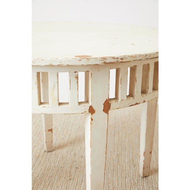Pair of Richard Mulligan Distressed Centre or Side Tables For Sale In San Francisco - Image 6 of 13