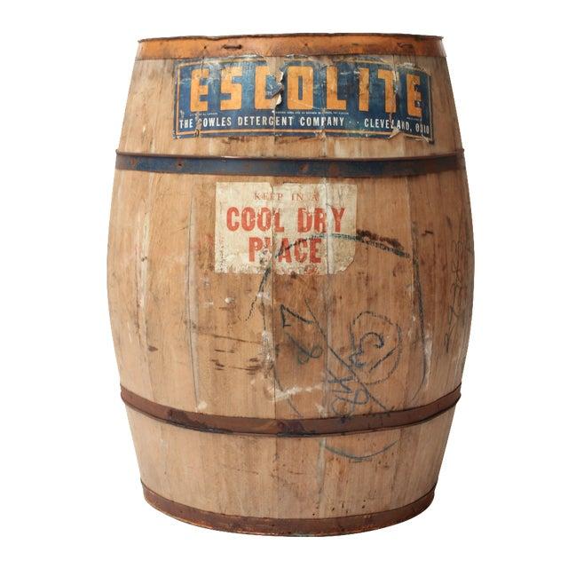 Antique Laundry Detergent Barrel - Image 1 of 9