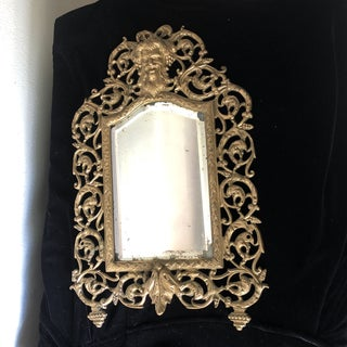 Vintage French Gothic Wall Mirror Preview