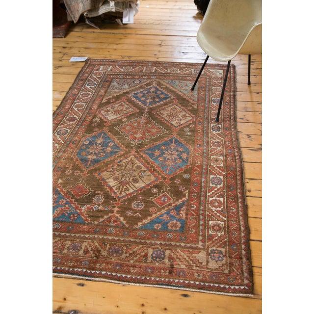 """Vintage Persian Malayer Rug - 4'1"""" X 7' - Image 5 of 8"""