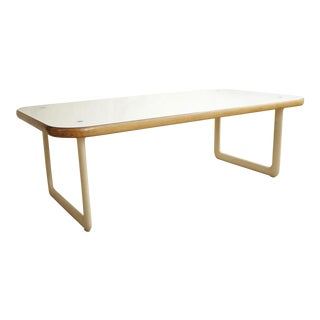 1970s Mid-Century Modern Knoll Hannah and Morrison Coffee Table For Sale