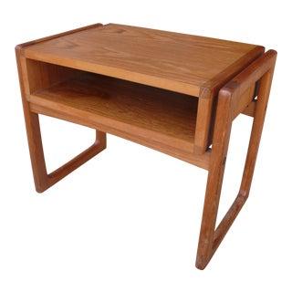 Danish Teak Nightstand by Mobelfabrik For Sale