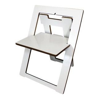 Mid-Century Danish Modern Leo Salom Style Pendulum Folding Chair For Sale
