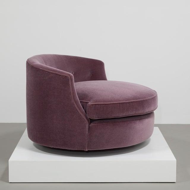 Customizable The Swivel Love Chair by Talisman Bespoke - Image 4 of 7