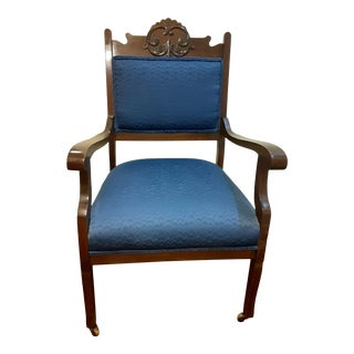Early 20th Century Victorian Eastlake Style Side Chair For Sale