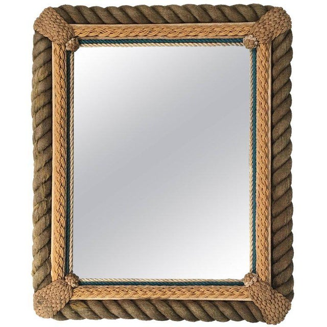 Sailor Made Nautical Ropework Mirror For Sale - Image 12 of 12