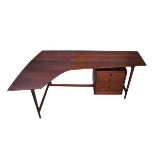 Richard Artschwager Studio Walnut Desk For Sale