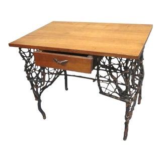 Rare and Unique Adirondack Twig Writing Desk