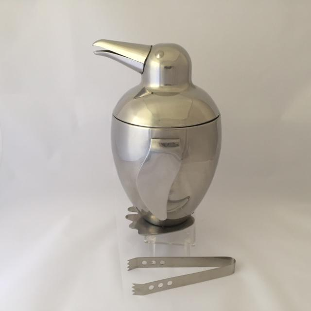 Mid-Century Style Penguin Ice Bucket and Tongs - A Pair For Sale In West Palm - Image 6 of 8