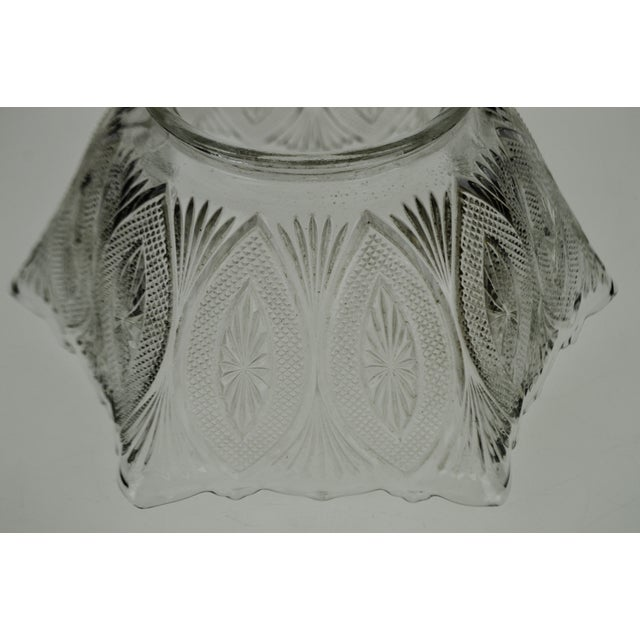 Victorian Style Pressed Glass Gas Light Shade For Sale - Image 10 of 13