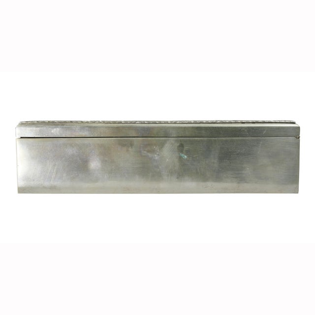 European Silver Box Containing Mother-Of-Pearl Counter Chips For Sale - Image 10 of 13