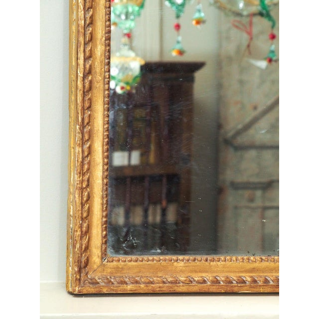 Finely Carved Louis XVI Style Mirror - Image 5 of 8