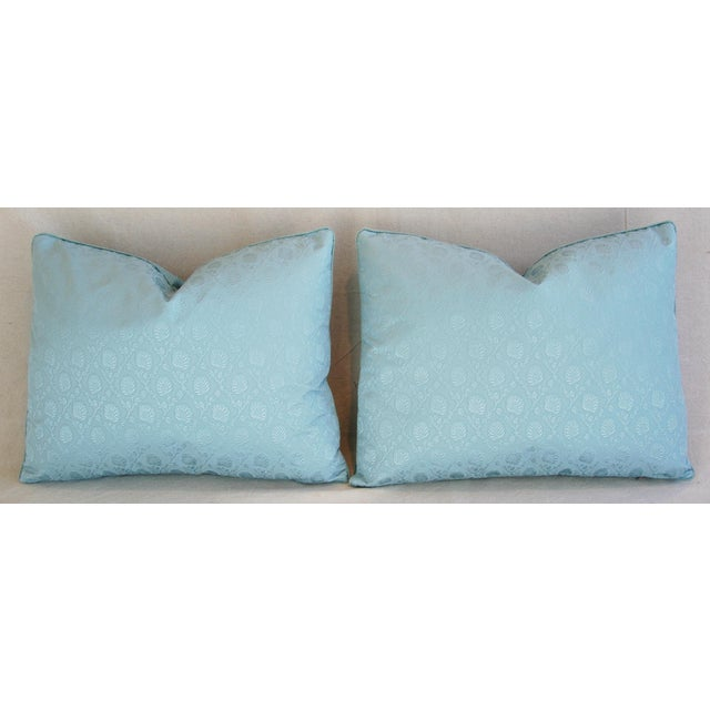 Powder Blue French Lelievre of Paris Pillows - a Pair - Image 5 of 11