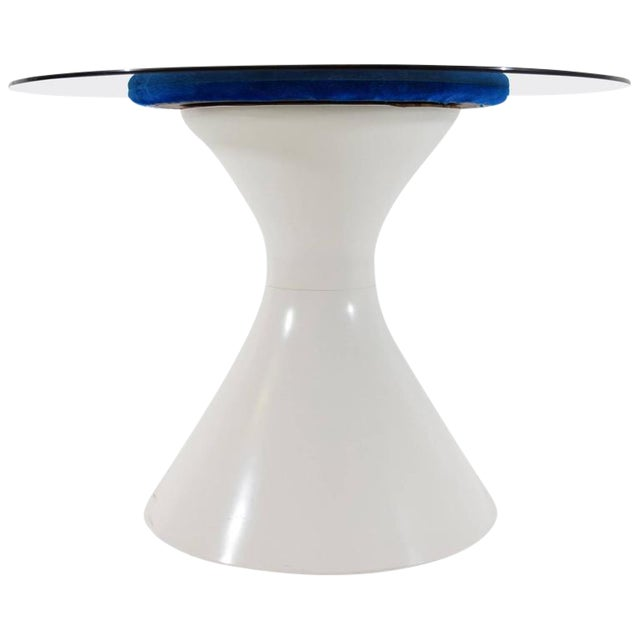 Space Age Style Dining Table by Chromecraft For Sale