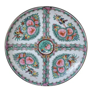 Chinese Famille Rose Medallion Large Plate