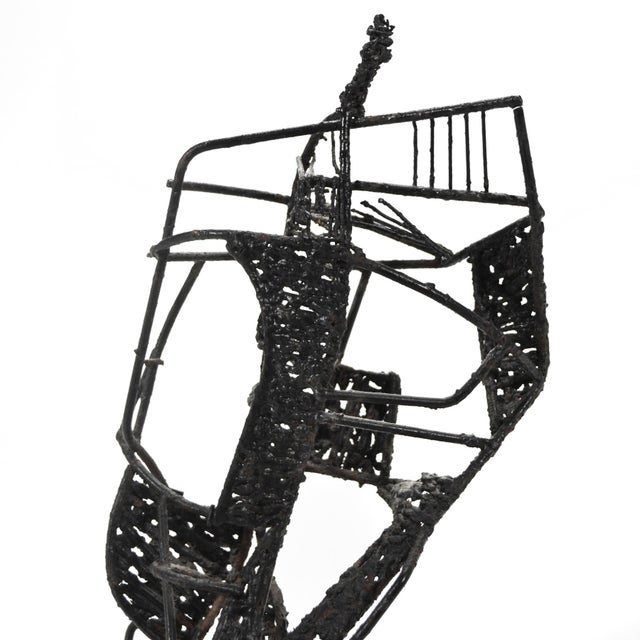 1960s Abstract Figure Sculpture For Sale - Image 5 of 7