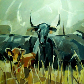 Roaming Bull by Paco Navarro For Sale