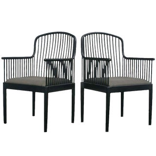 "Last Call Davis Allen for Knoll ""Andover"" Chairs - a Pair"