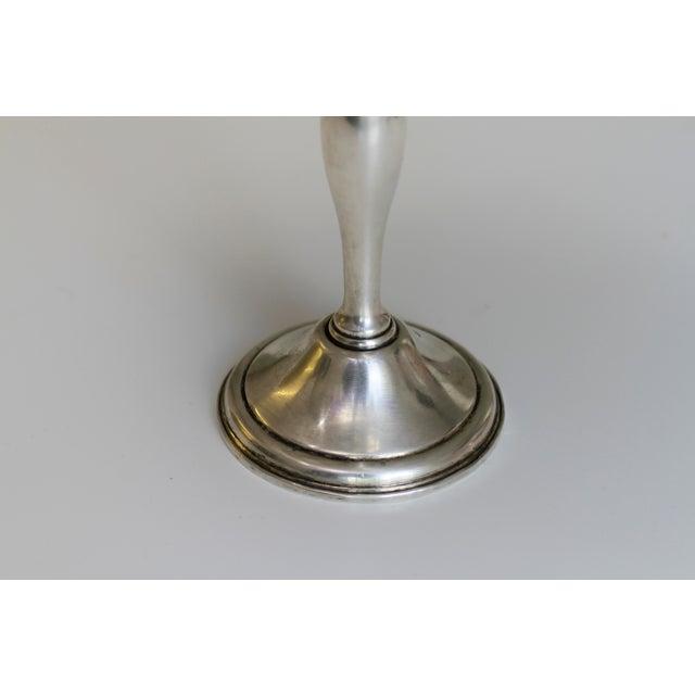 Antique Sterling Silver Berkeley International Pedestal Serving Dish For Sale - Image 9 of 11