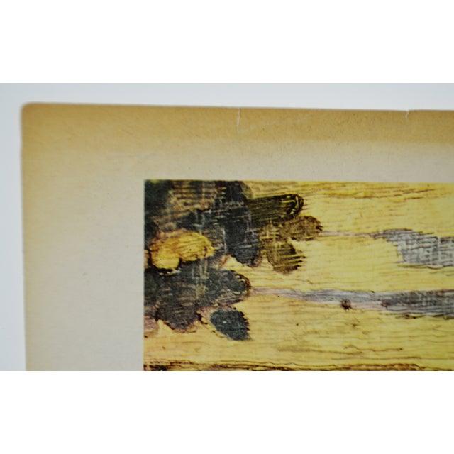 "Black Tsuguharu Foujita ""Little Cavalier"" Mid-Century Print For Sale - Image 8 of 10"