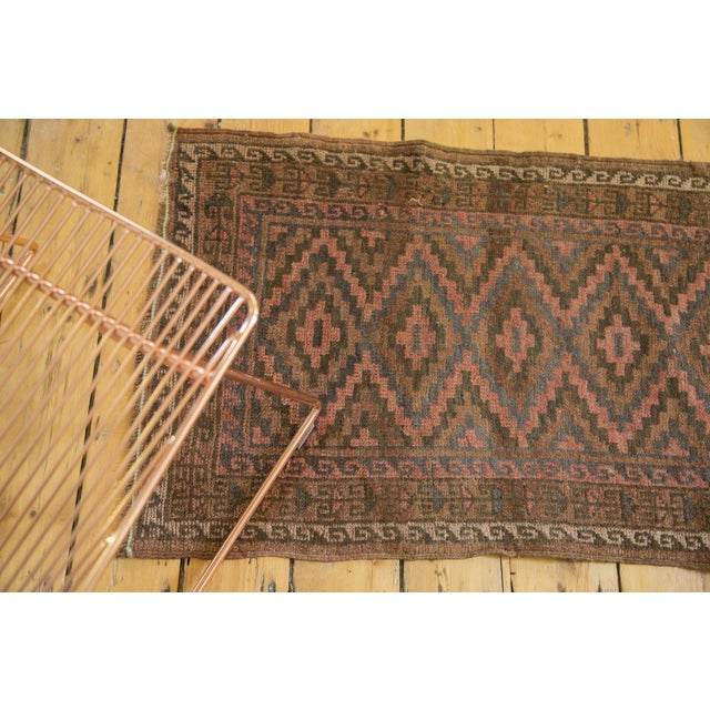 "Vintage Afghani Rug - 2' x 3'3"" For Sale In New York - Image 6 of 6"