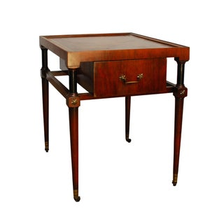 French Empire Style End Table