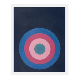 """Small """"Target Practice in Pinks"""" by Stephanie Henderson, 16"""" X 20"""""""