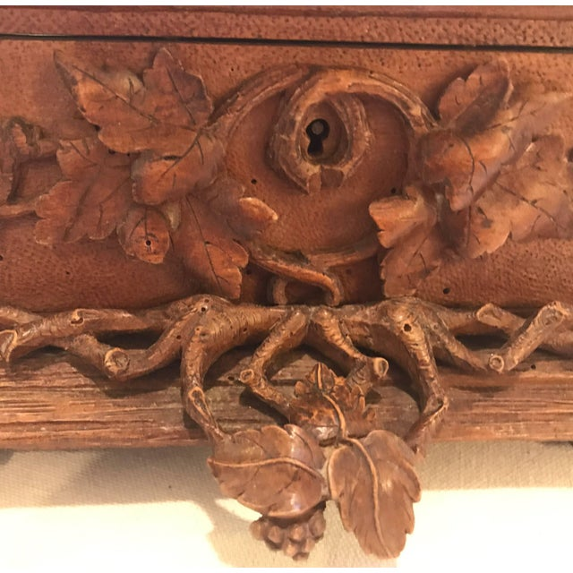 Late 19th Century Black Forest Hinged Box For Sale - Image 5 of 11