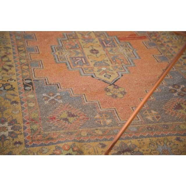 "Vintage Distressed Oushak Rug - 3'9"" x 6'6"" - Image 7 of 11"