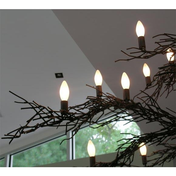 Not Yet Made - Made To Order Monumental Twig Plaster Chandelier For Sale - Image 5 of 8