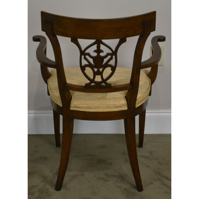 2010s Nahon Custom Quality Set of 8 Regency Style Mahogany Dining Chairs For Sale - Image 5 of 13