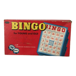 Vintage Bingo Game For Sale