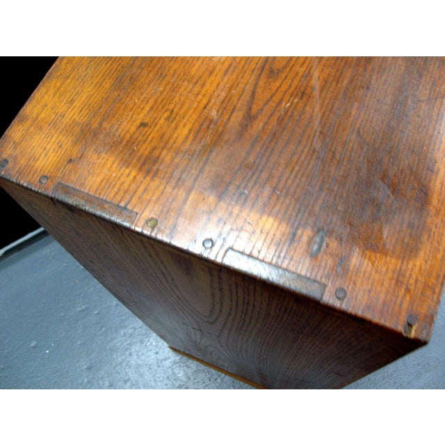 Wood Reserved 19th Century Small Japanese Tansu Cabinet For Sale - Image 7 of 12