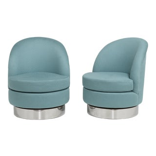 Customizable The Talisman Swivel Chairs by Talisman Bespoke For Sale