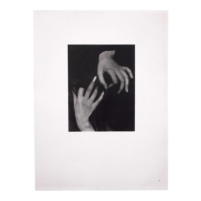 "Ltd. Ed. Vintage Photograph by Alfred Stieglitz (Usa 1864-1946)-"" [Georgia] O'Keefe Hands With Thimble"" For Sale"