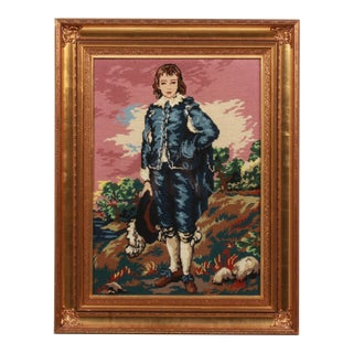 The Blue Boy Needlepoint