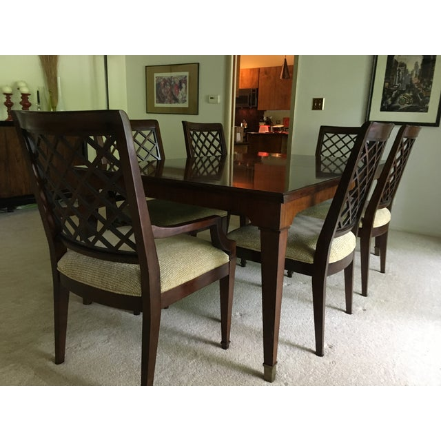 Contemporary Bernhardt Traditional Dining Set For Sale - Image 3 of 13