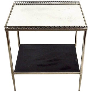 Elegant Side Table Attributed to Maison Jensen For Sale